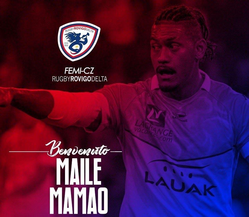 Maile Mamao - Rugby Rovigo