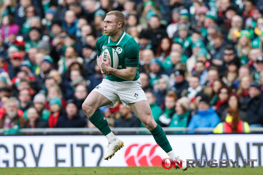 """Sei Nazioni 2021 Keith Earls """"Try of the Round"""""""