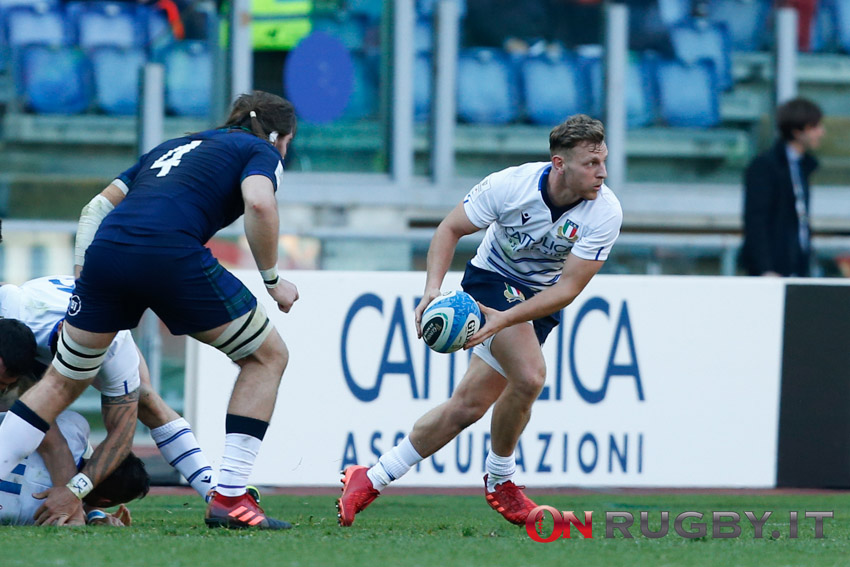 Callum Braley -Gloucester - Nazionale italiana Rugby