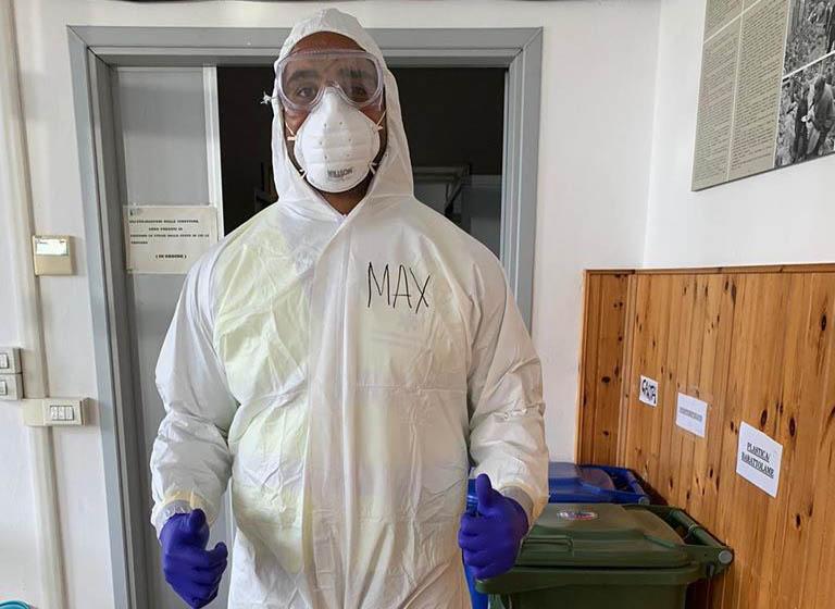 Maxime Mbanda coronavirus