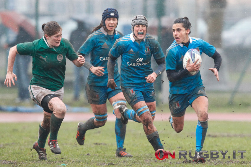 nazionale italiana rugby femminile