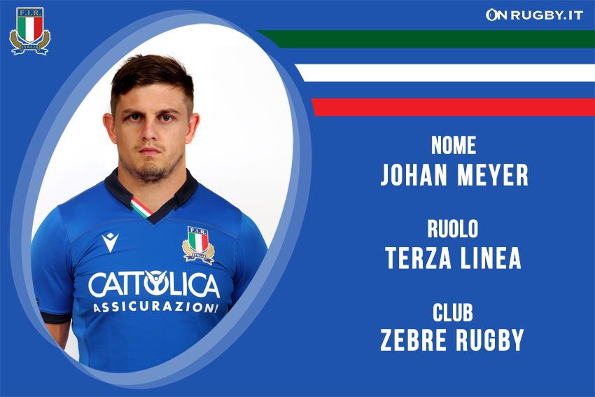 Johan.Meyer nazionale italiana rugby - Italrugby