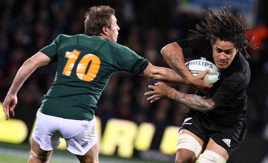 Sudafrica e Nuova Zelanda sono tra le nazioni che fanno della massa muscolare una delle loro armi AFP PHOTO/Brendon O'HAGAN (Photo by BRENDON O'HAGAN / AFP)