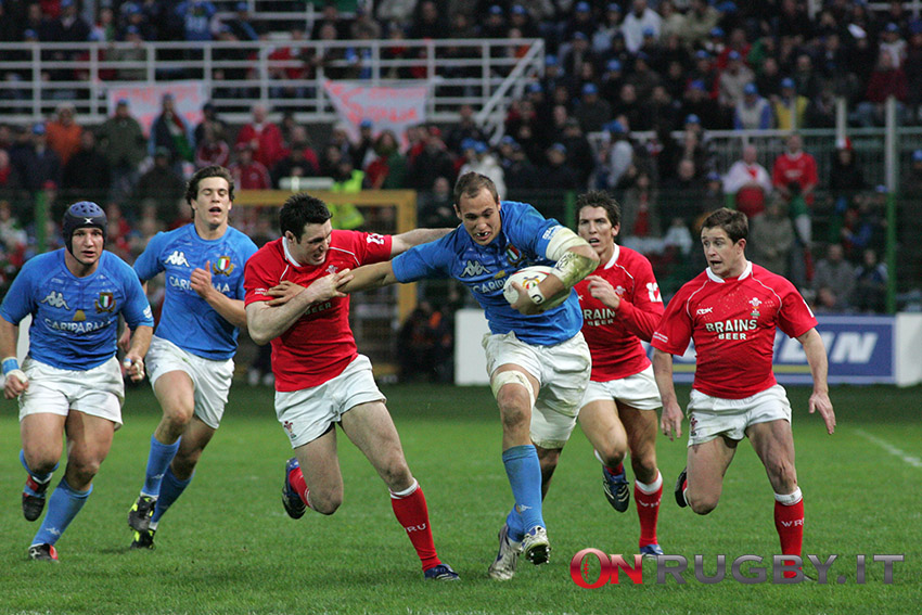 Stephen Jones, Sergio Parisse, Shane Williams