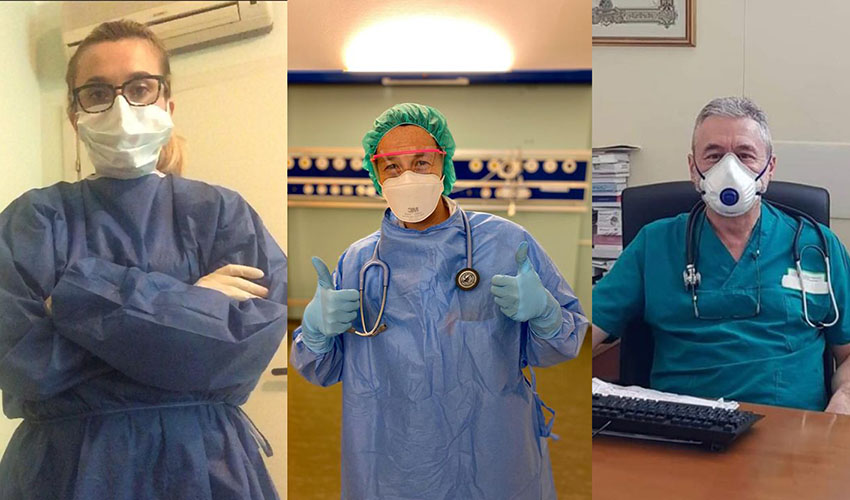 medici Zebre e Benetton rugby