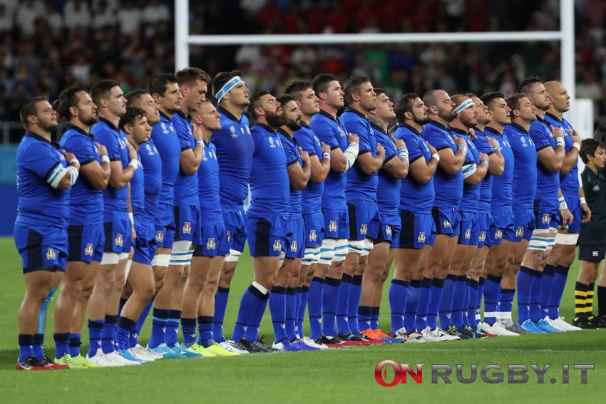 nazionale italiana alla rugby wolrd cup 2019