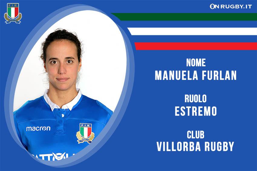 Manuela Furlan capitano Nazionale Italiana Rugby Femminile- Italrugby