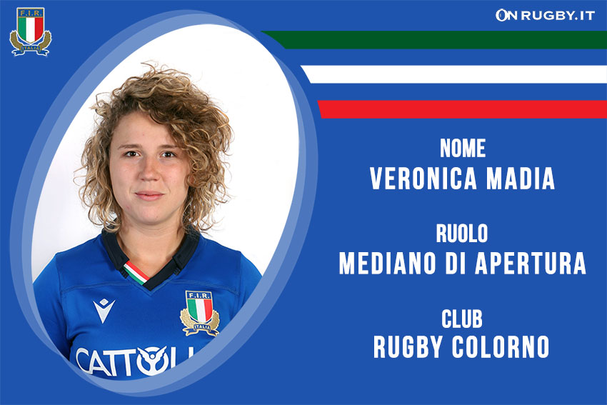 Veronica Madia Nazionale Italiana Rugby Femminile- Italrugby