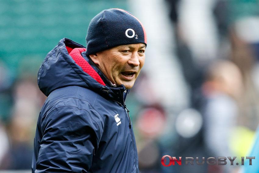 Eddie Jones, head coach dell'Inghilterra