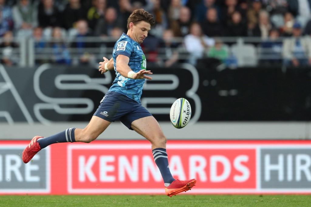 Super Rugby Aotearoa: Beauden Barrett alla prova Highlander, i Blues non possono fallire. AFP