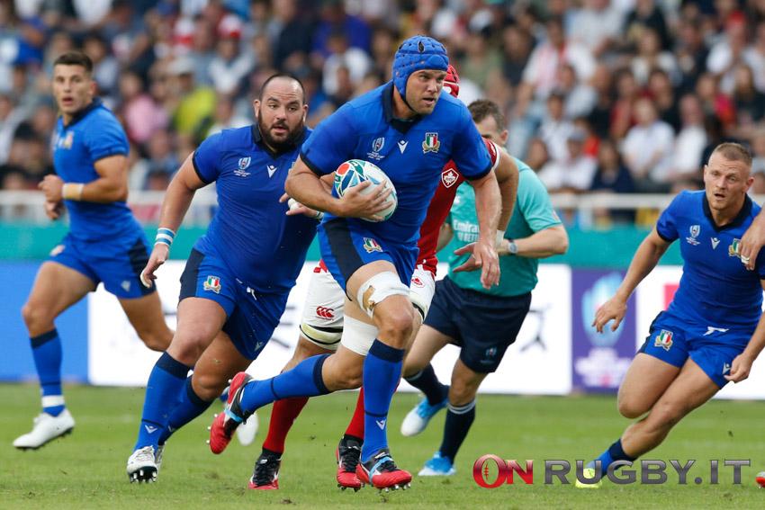 Ritiri azzurri, Dean Budd rugby
