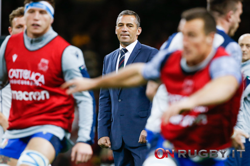 Franco Smith head coach nazionale italiana rugby