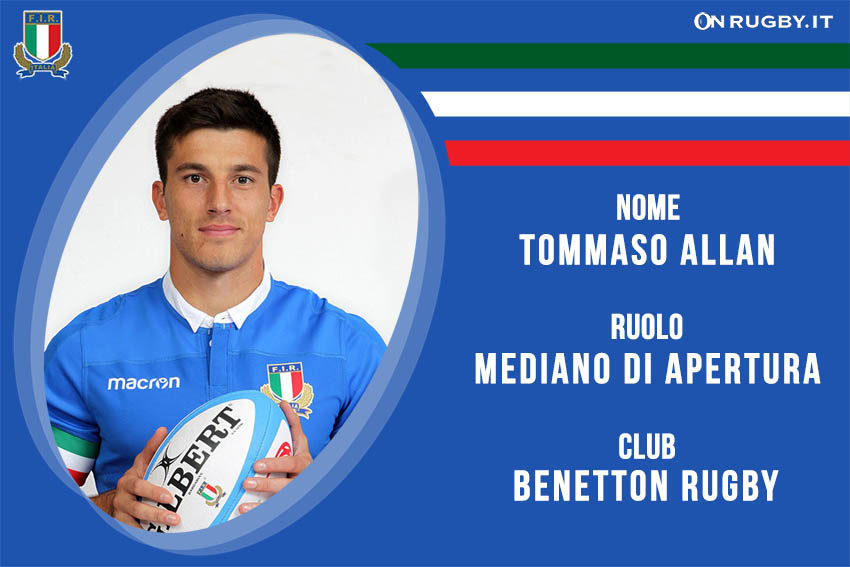 Tommaso Allan-Nazionale italiana Rugby