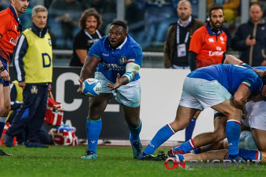 La formazione dell'Italia del Rugby per Italia-Francia Sei Nazioni 2021
