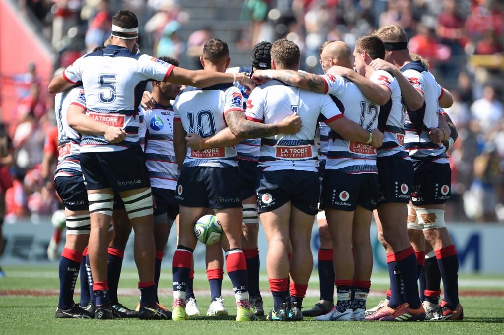 Super Rugby AU: terza vittoria di fila per i Rebels. AFP