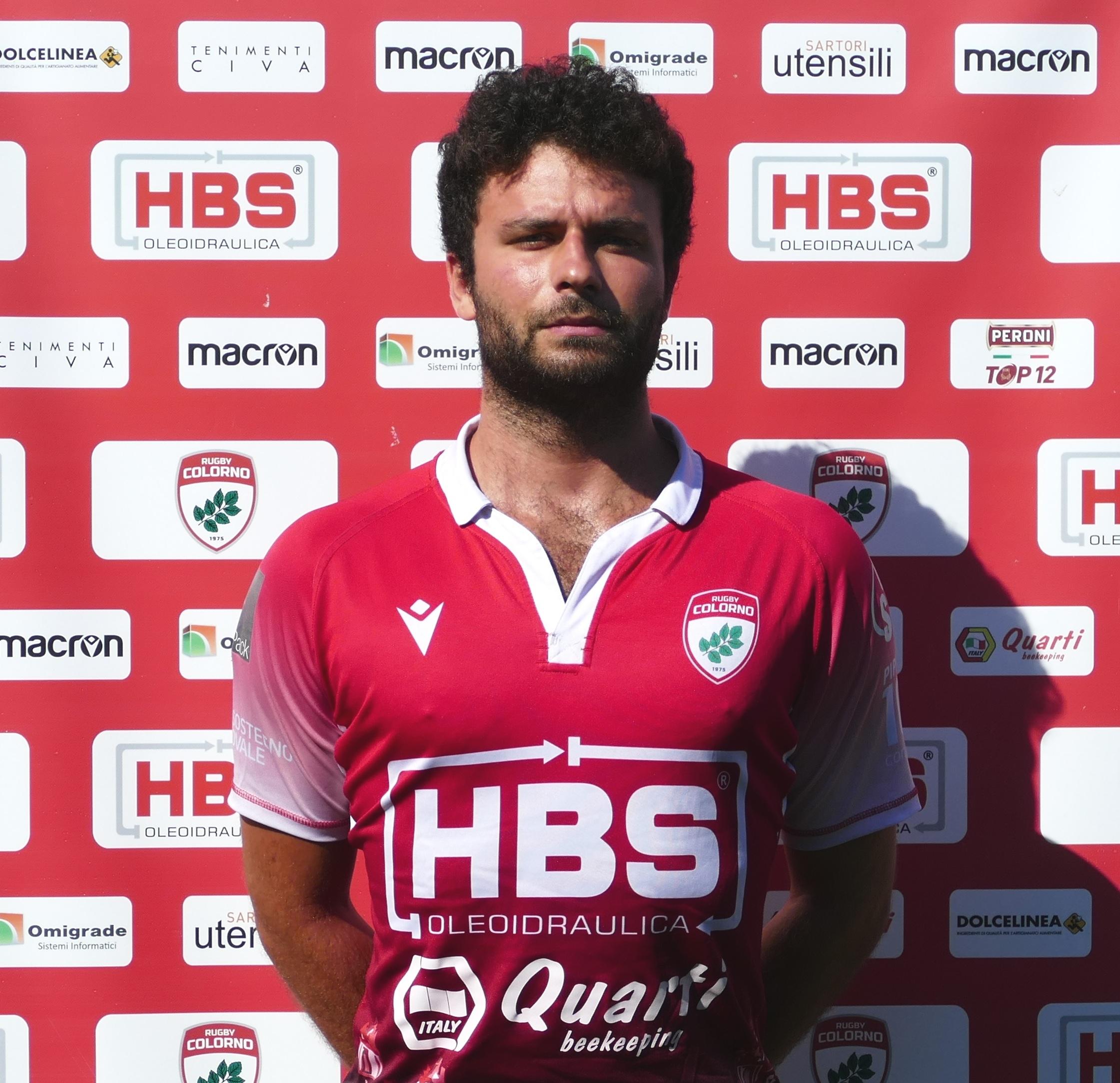 Rugby Colorno: Michele Boccardo è uno dei due ultimi acquisti