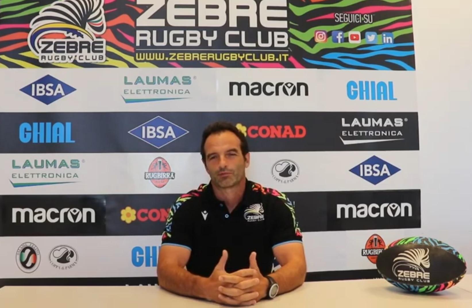 Fabio Roselli è l'allenatore dei trequarti delle Zebre