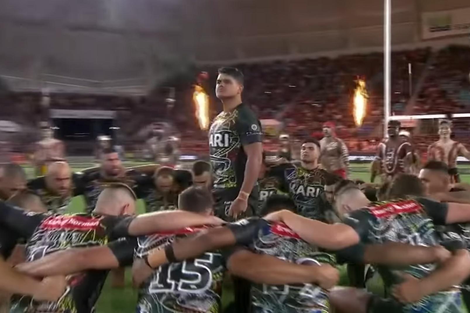 La danza di guerra degli aborigeni australiani