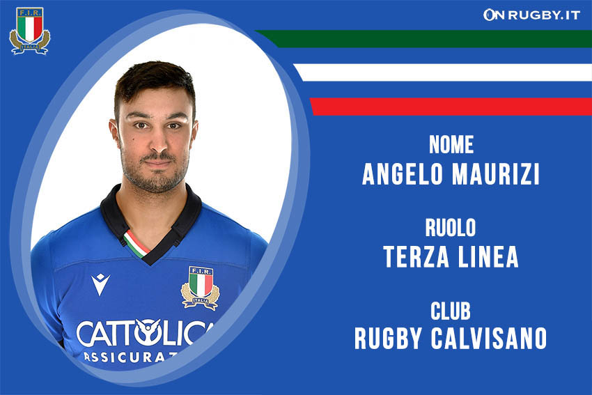 Angelo Maurizi rugby nazionale under 20