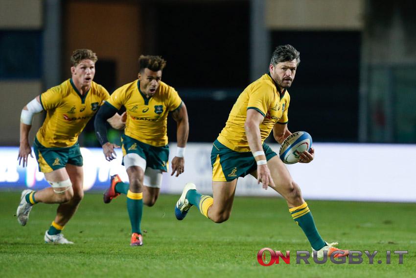 Rugby Championship: La formazione dell'Australia per la Nuova Zelanda