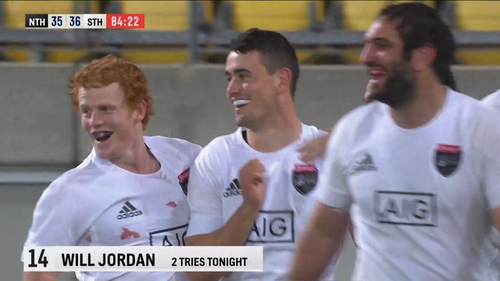 Will Jordan decisivo nel match Isola Nord-Isola Sud in casa All Blacks