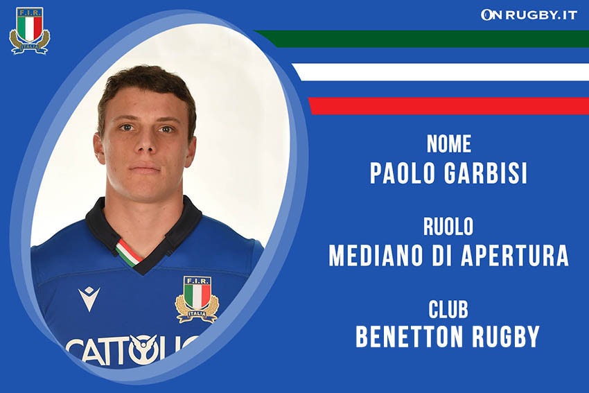 Paolo Garbisi Nazionale Italiana Rugby e Benetton Rugby