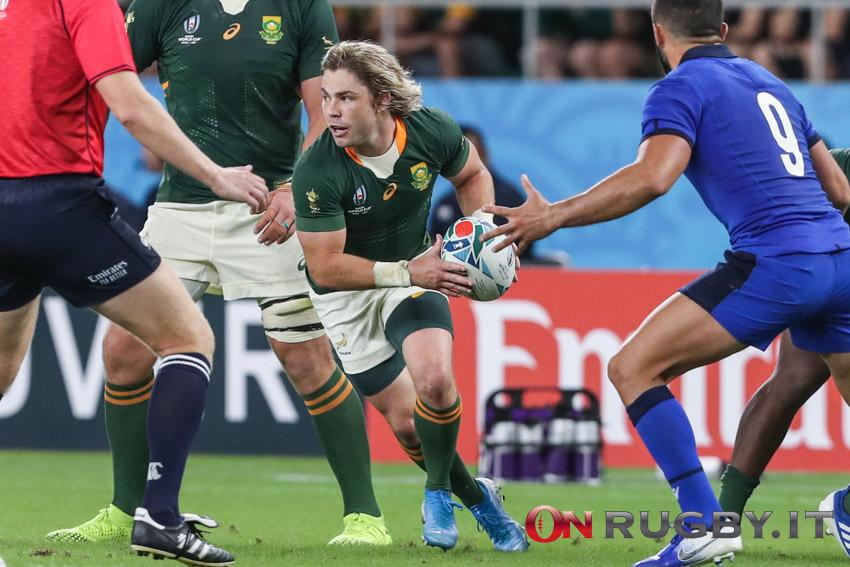 Rugby Championship Sudafrica_Faf de Kler_Pessina