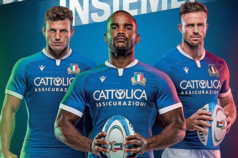 Maglia da rugby Italia 2021 Italia rugby Maglietta