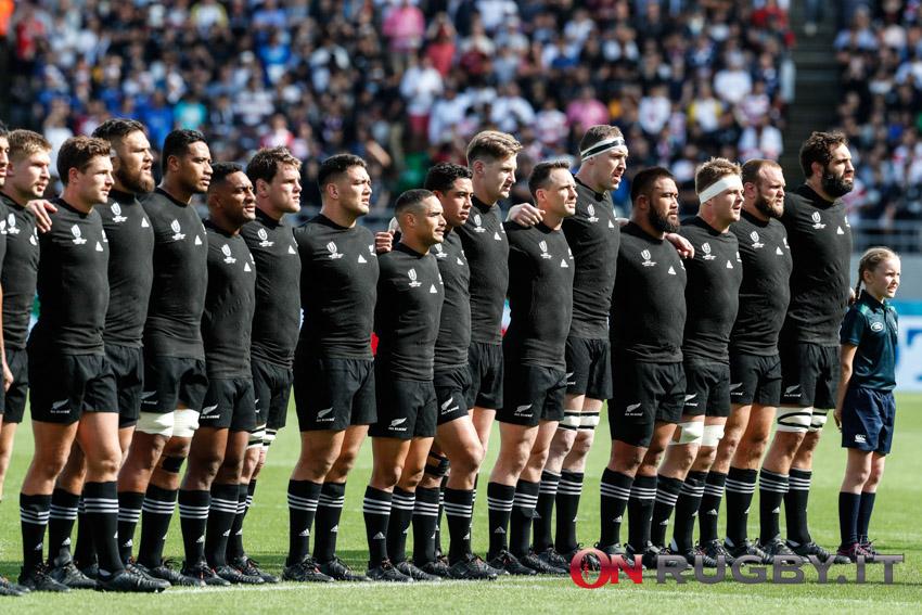 La formazione degli All Blacks