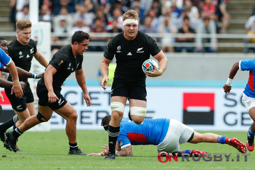 Tri Nations: Sam Cane capitanerà gli All Blacks in una delle partite più importanti del loro passato recente (Ph. Sebastiano Pessina)