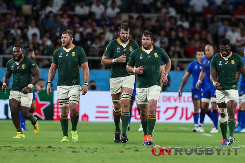 La formazione del Sudafrica per il primo test contro i Lions