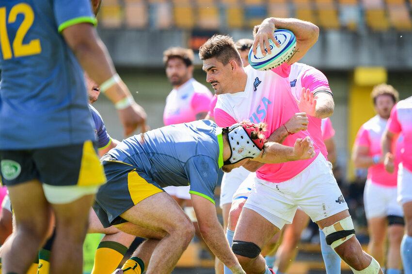 Argentina: Pablo Matera è uno dei giocatori coinvolto nel caso dei tweet razzisti Photo: Stuart Walmsley / Rugby Australia