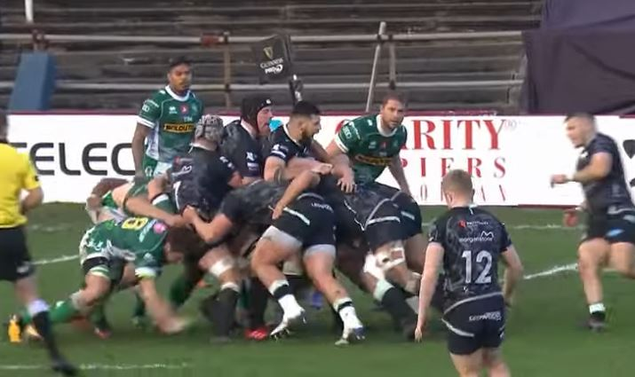 Highlights della sconfitta del Benetton Rugby contro gli Ospreys