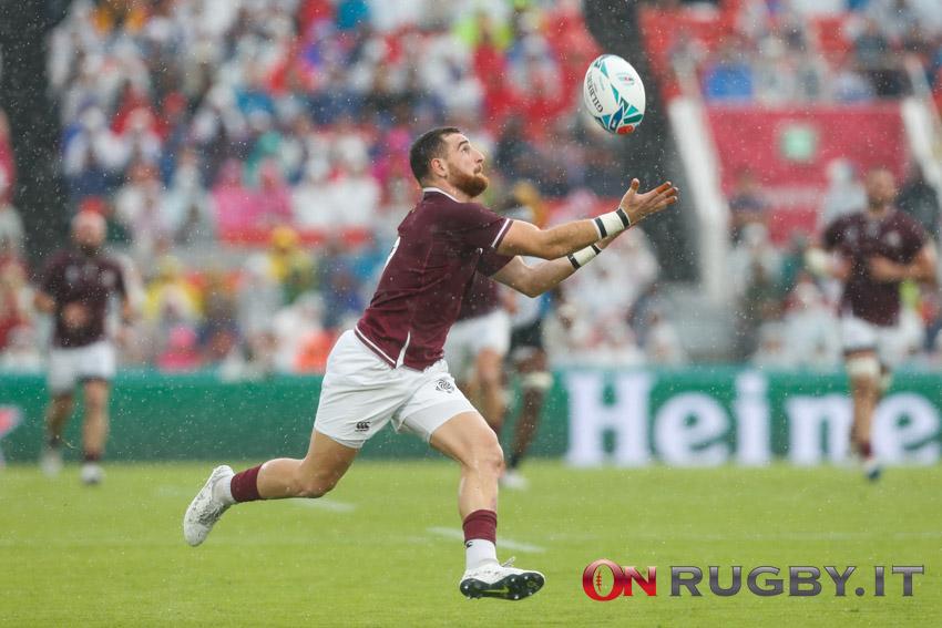 La formazione della Georgia per la sfida contro l'Inghilterra - Autumn Nations Cup
