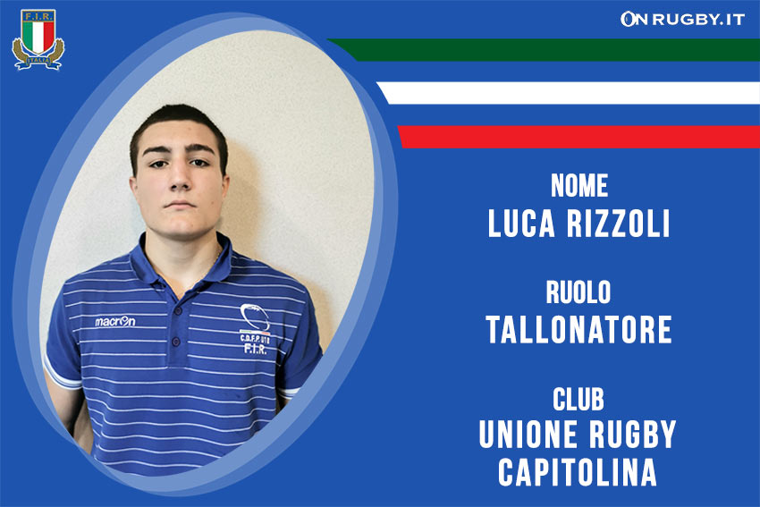 Luca Rizzoli -rugby-nazionale under 20