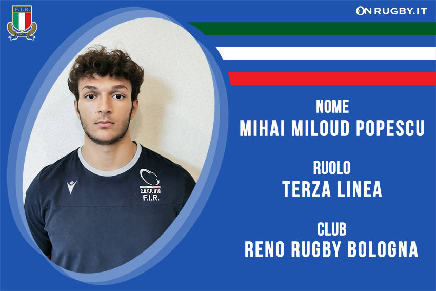 Mihai Miloud -rugby-nazionale under 20