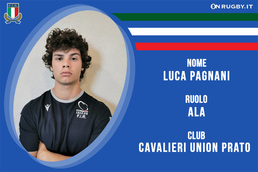 Pagnani Luca-rugby-nazionale under 20