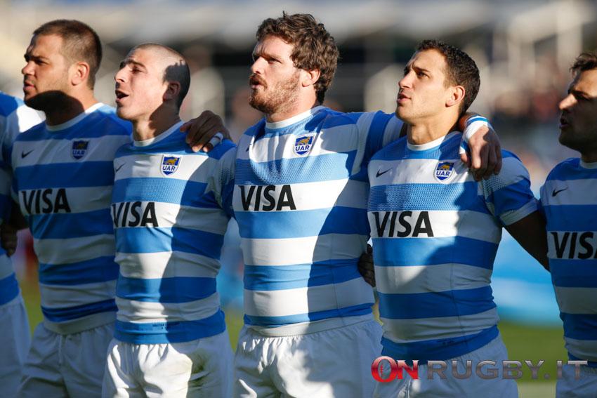 L'Argentina è la settima nazionale ad aver battuto gli All Blacks (Ph. Sebastiano Pessina)