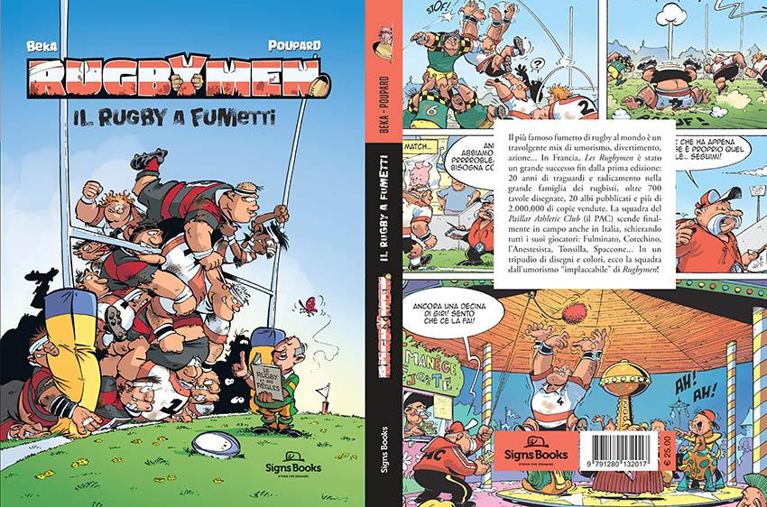 RUGBYMEN il rugby a fumetti