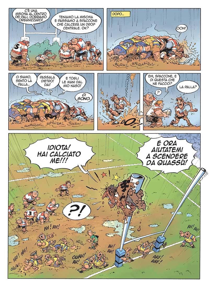 Rugbymen - rugby a fumetti