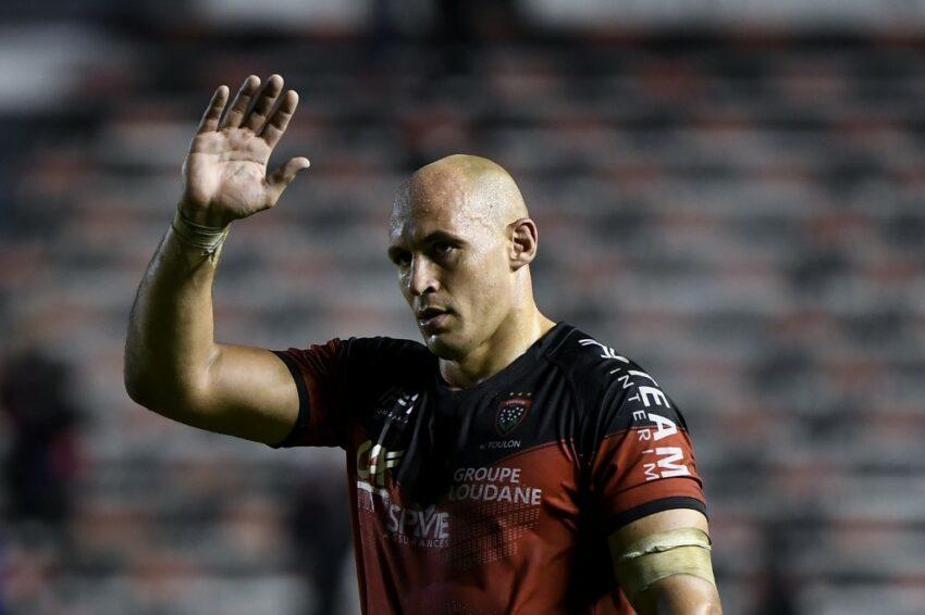 Sergio Parisse è pronto prolungare il suo contratto con Tolone, aggiungendo un'altra carica a quella di giocatore (Photo by NICOLAS TUCAT / AFP)