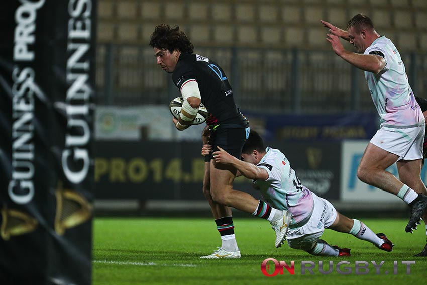 Pro14: Tommaso Boni sarà il capitano delle Zebre nella trasferta contro gli Ospreys (Ph. Luca Sighinolfi)
