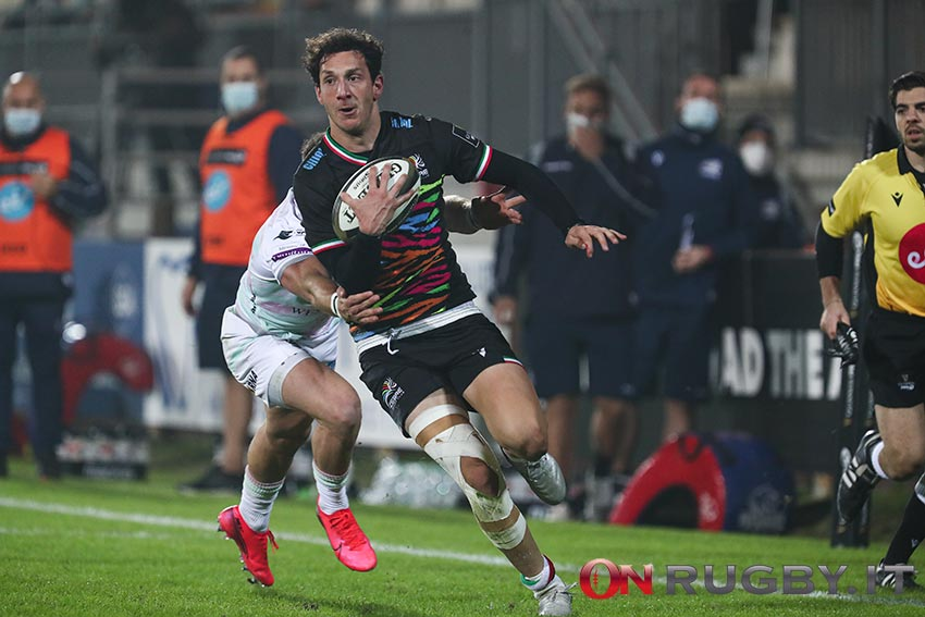 Zebre Rugby - Giovanni D'Onofrio