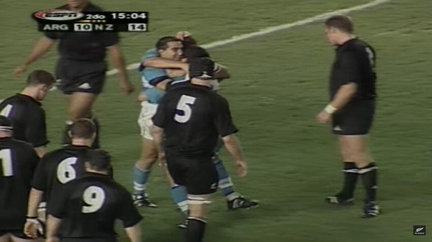 L'Argentina aveva sfiorato il successo sulla Nuova Zelanda già nel 2001