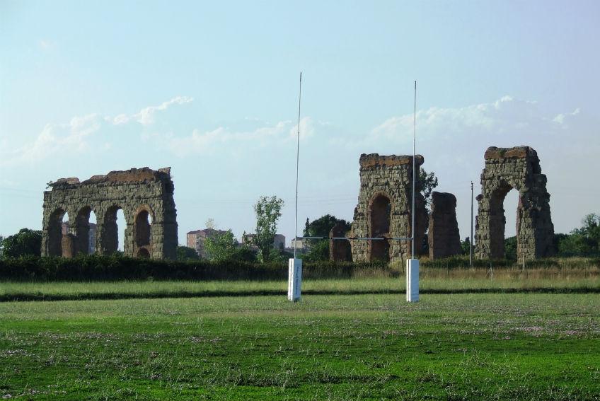 Parco degli acquedotti, situato nel Parco dell'Appia antica