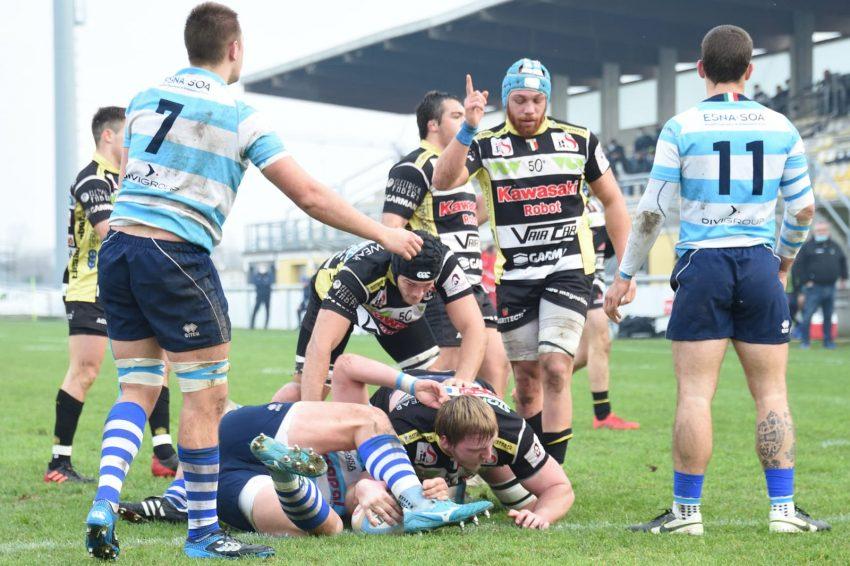 Top10: grande scontro tra Calvisano e Viadana in questo weekend di recuperi. Ph Rugby Calvisano