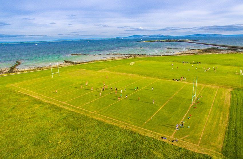 I campi da rugby più belli del mondo - Galway,Irlanda.