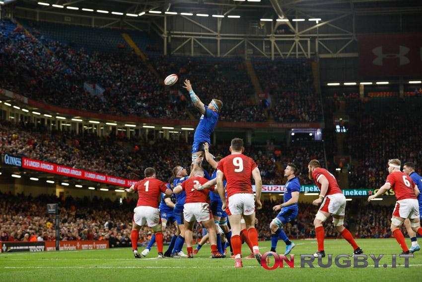 Italia rugby ranking storia