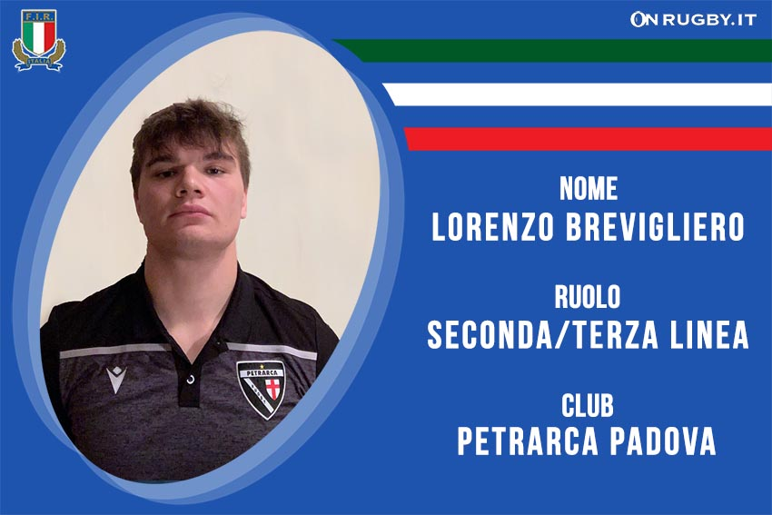 Lorenzo Brevigliero Nazionale italiana Under20
