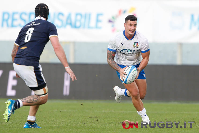 marco zanon italia rugby autumn nations cup